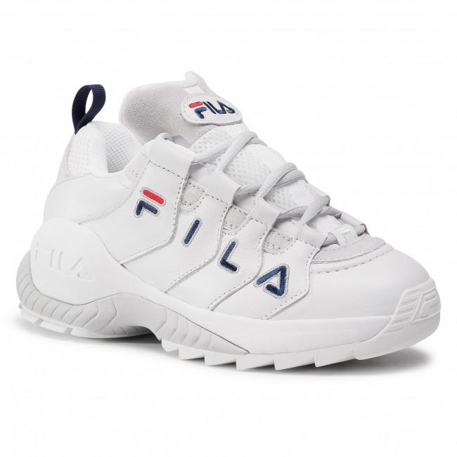 Sneakersy FILA - Countdown Low Wmn 1010751.92D White/Glacier Gray