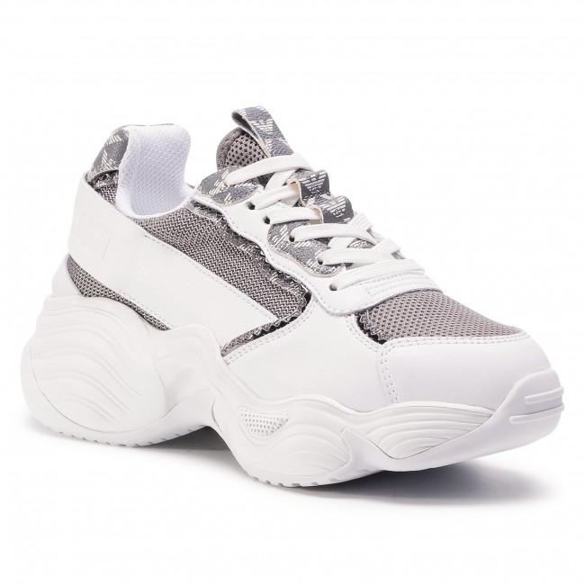 Sneakersy EMPORIO ARMANI - X3X088 XM328 N108 Antr/Per/Gr/Gun/Whit
