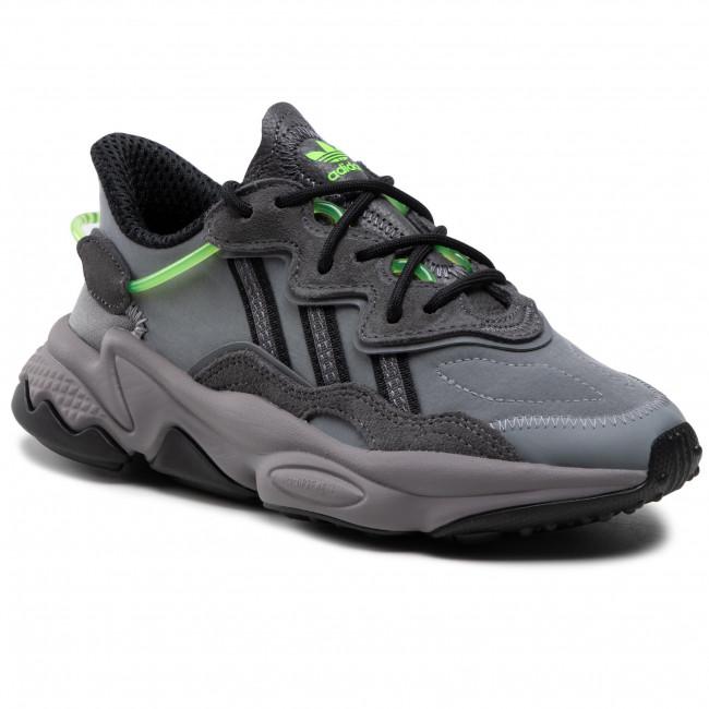 Topánky adidas - Ozweego J FX5186 Grefiv/Grethr/Tmsogr