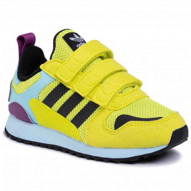 Topánky adidas - Zx 700 Hd Cf C FX5237  Aciyel/Cblack/Hazsky