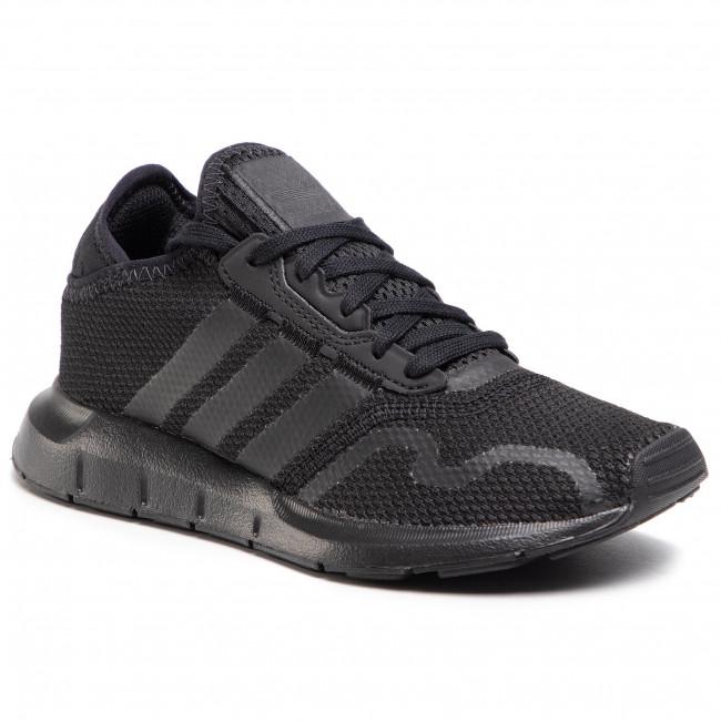 Topánky adidas - Swift Run X J FY2153  Cblack/Cblack/Cblack