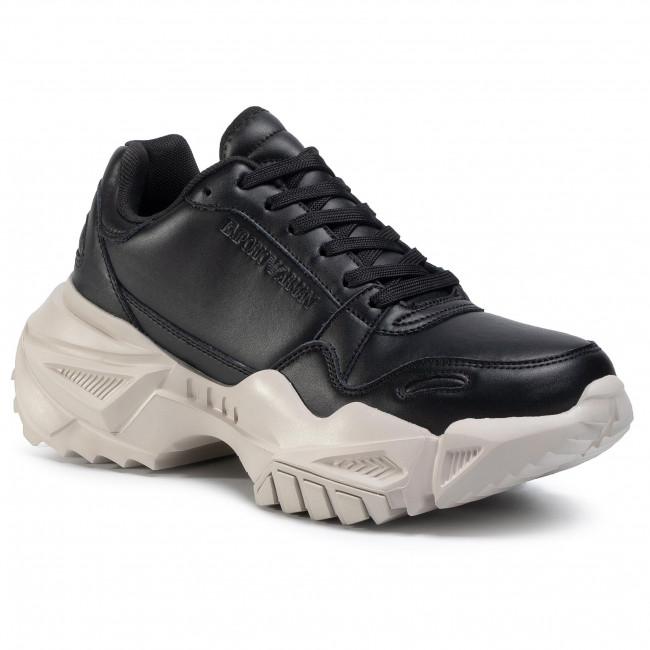 Sneakersy EMPORIO ARMANI - X4X324 XF499 00002 Black