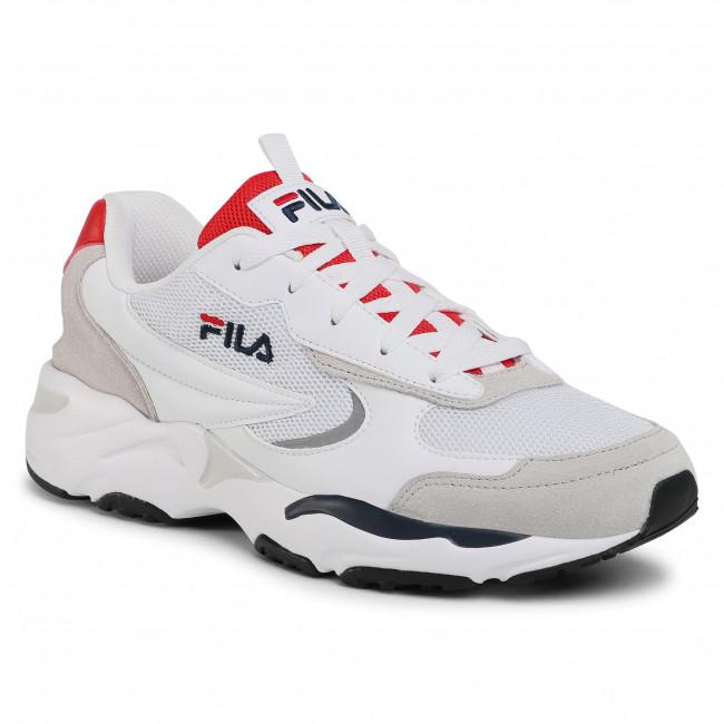 Sneakersy FILA - Mastermind Cb 1011060.92K White/Fila Red