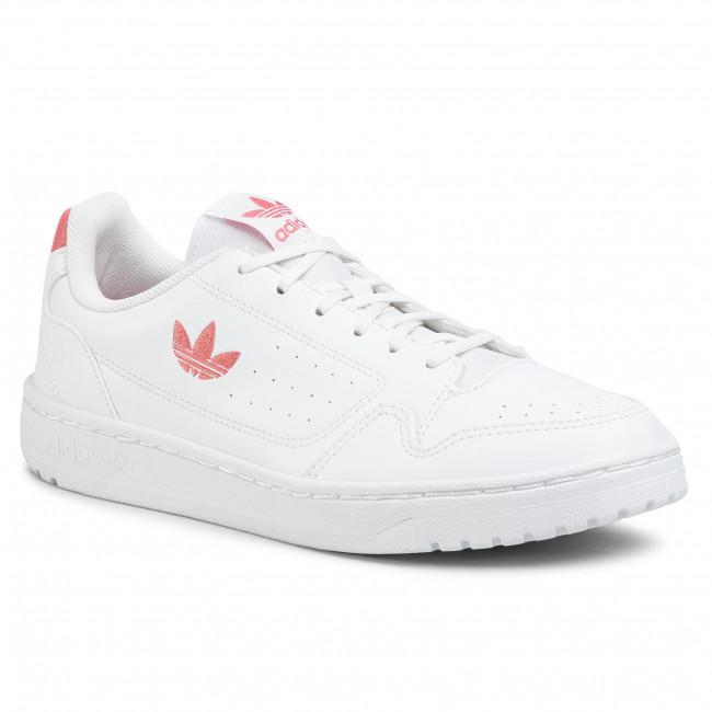 Topánky adidas - Ny 90 J FX6473  Ftwwht/Hazros/Ftwwht