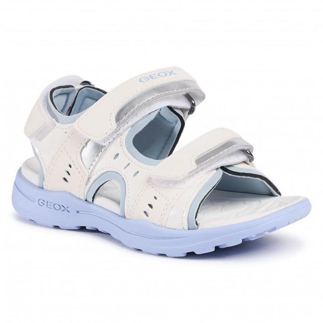 Sandále GEOX - J Vaniett G. B J026AB 050BN C1206 S White/Sky