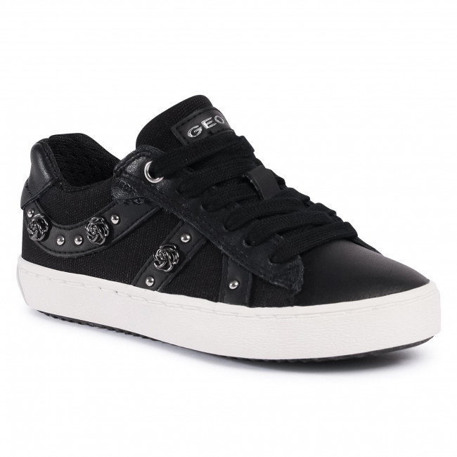 Sneakersy GEOX - J Kilwi G. A J02D5A 01085 C9999 S1 Black
