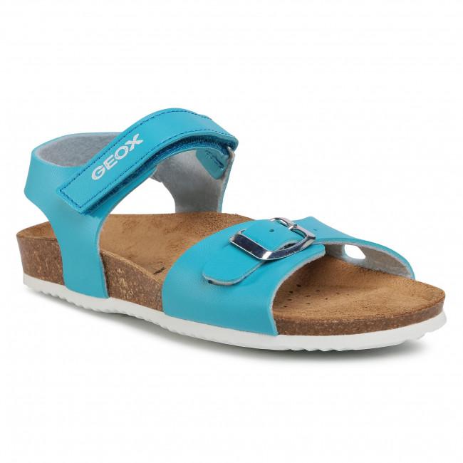 Sandále GEOX - J Adriel Girl C J028MC 000BC C4015 S Turquoise