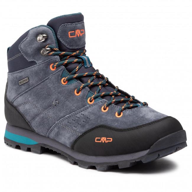 Trekingová obuv CMP - Alcor Mid Trekking Shoes Wp 39Q4907 Antracite/Petrol 15UF