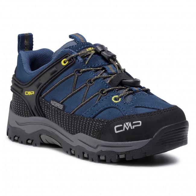 Trekingová obuv CMP - Kids Rigel Low Trekking Shoes Wp 3Q13244  Blue Ink/Yellow 10MF