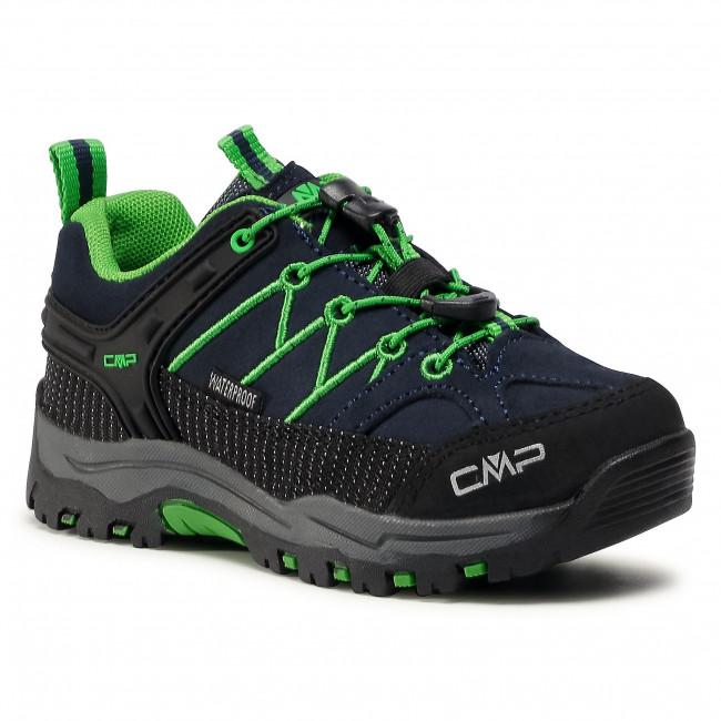 Trekingová obuv CMP - Kids Rigel Low Trekking Shoes Wp 3Q13244J B.Blue/Gecko 51AK 1