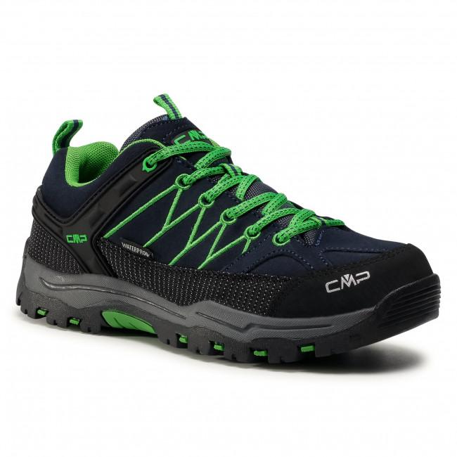 Trekingová obuv CMP - Kids Rigel Low Trekking Shoes Wp 3Q13244J B.Blue/Gecko 51AK