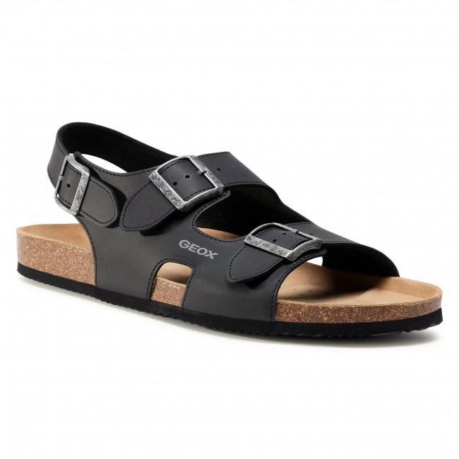 Sandále GEOX - U Sandal Ghita B U029VB 000BC C9999 Black