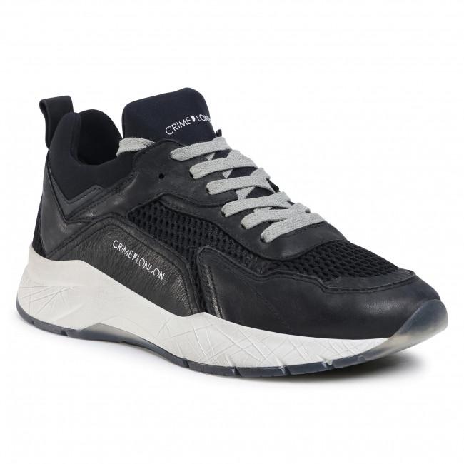 Sneakersy CRIME LONDON - Tech Runner 11301AA3  Čierna
