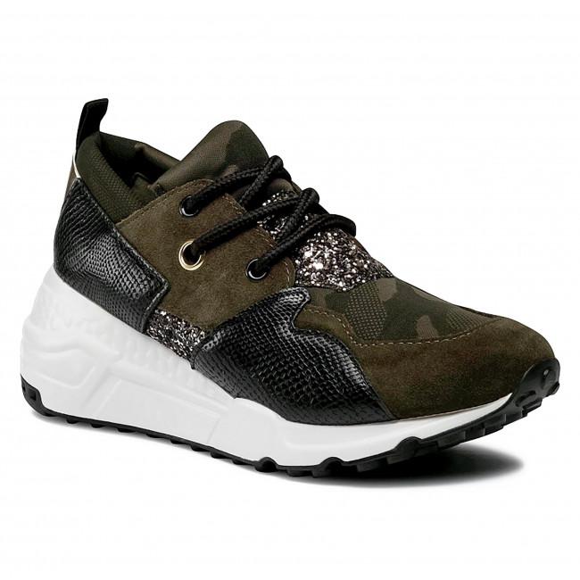 Sneakersy STEVE MADDEN - Cliff SM11000185-04005-BKO Black/Olive