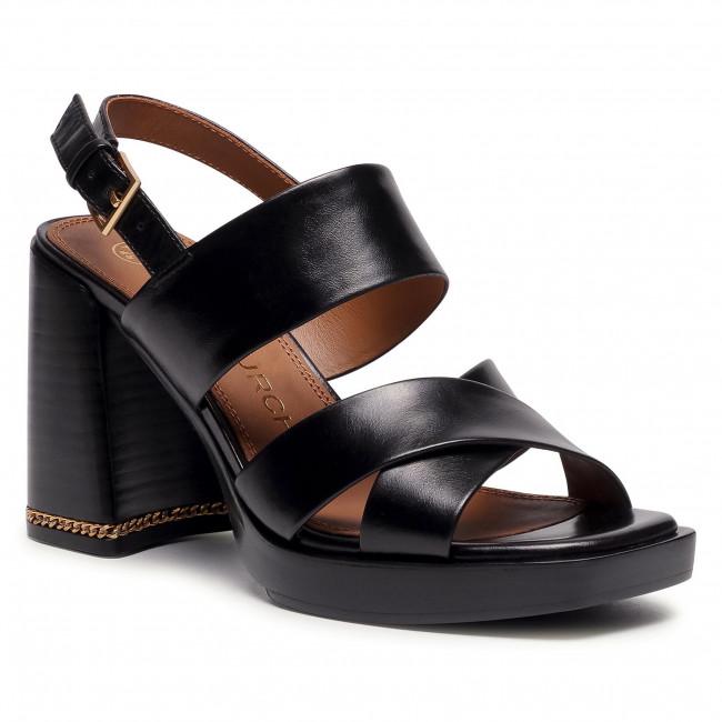 Sandále TORY BURCH - Ruby 95Mm Sandal 75474 Perfect Black 006