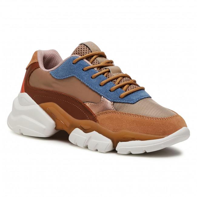 Sneakersy MARC O'POLO - 007 15503501 334  Cognac/Combi 728