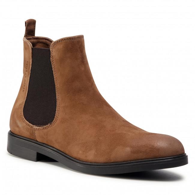 Kotníková obuv s elastickým prvkom MARC O'POLO - 007 16045002 305 Hazelnut 740