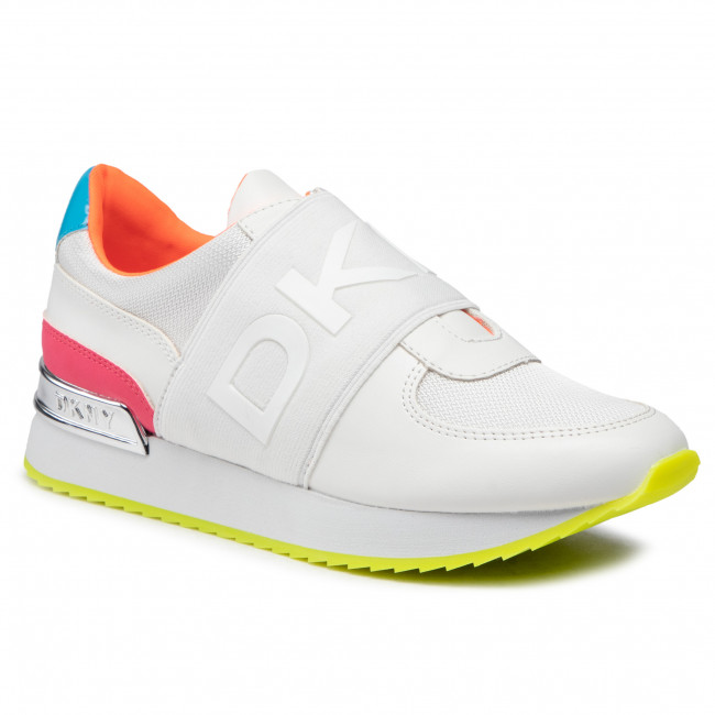 Sneakersy DKNY - Marli K4031662 White/Pink