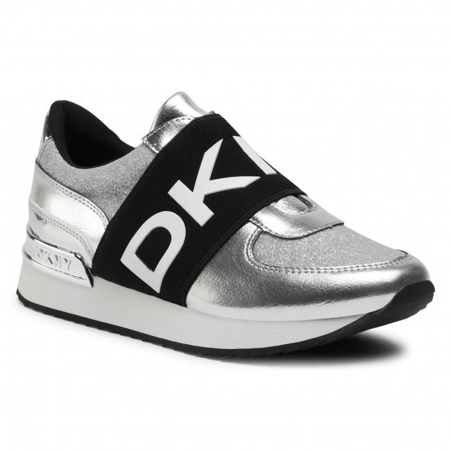 Sneakersy DKNY - Marli K4066182  Silver SIL