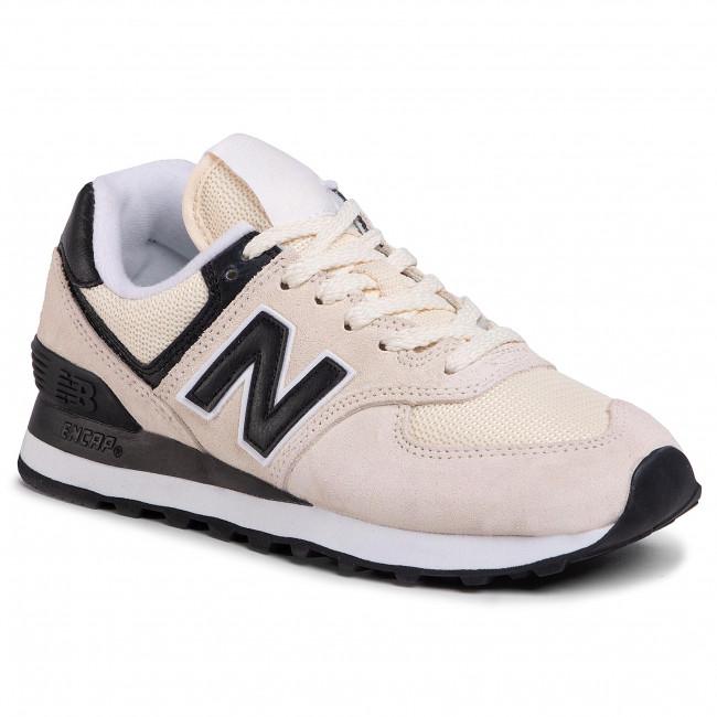 Sneakersy NEW BALANCE - WL574LBA Béžová