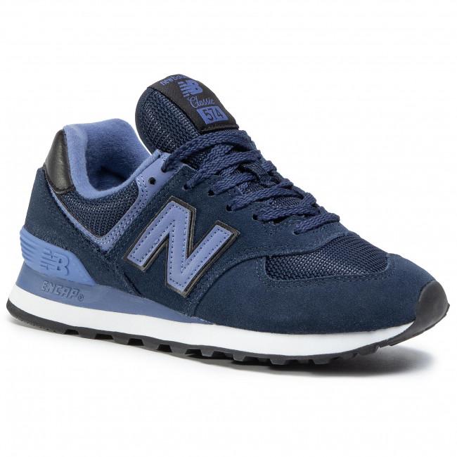 Sneakersy NEW BALANCE - WL574LBG  Tmavo modrá