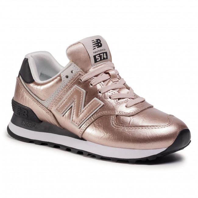 Sneakersy NEW BALANCE - WL574WER Ružová
