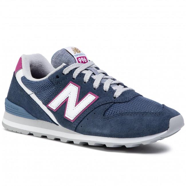 Sneakersy NEW BALANCE - WL996WA Tmavo modrá
