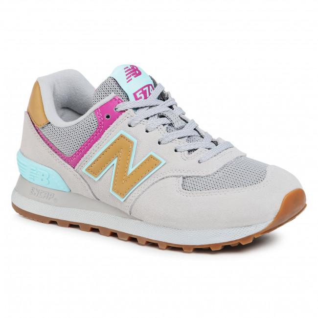 Sneakersy NEW BALANCE - WT574ATA  Béžová
