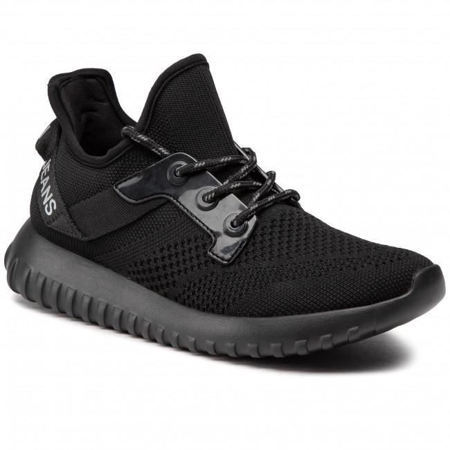 Sneakersy CALVIN KLEIN JEANS - Ronette B4R1641 Black/Silver