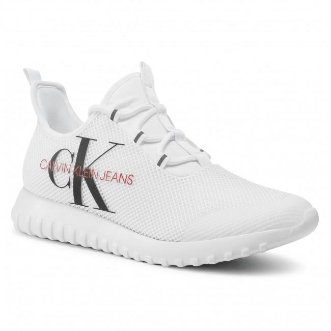 Sneakersy CALVIN KLEIN JEANS - Reiland B4S0707 White