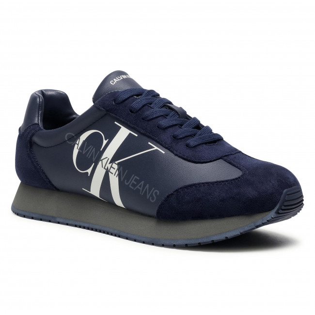 Sneakersy CALVIN KLEIN JEANS - Joele B4S0716 Navy