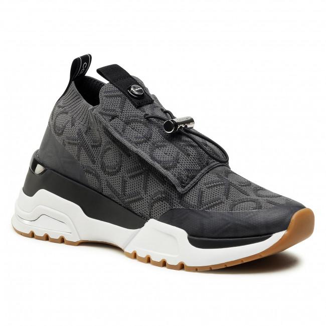 Sneakersy CALVIN KLEIN - Hue B4E8694 Black