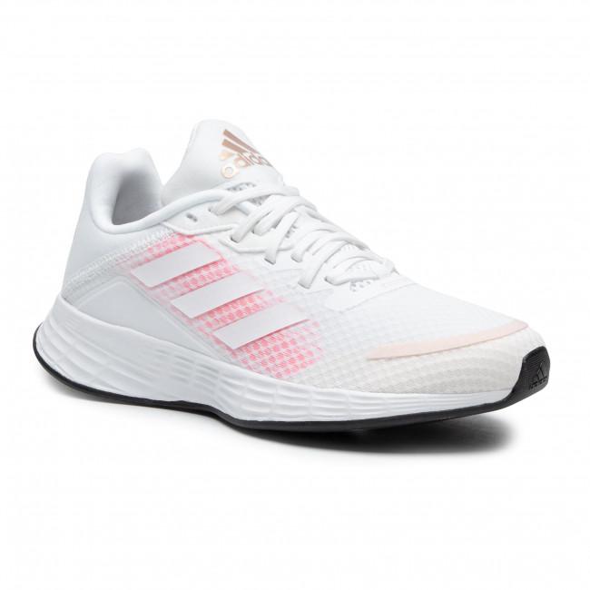 Topánky adidas - Duramo Sl FW3222 Ftwwht/Ftwwht/Sigpnk