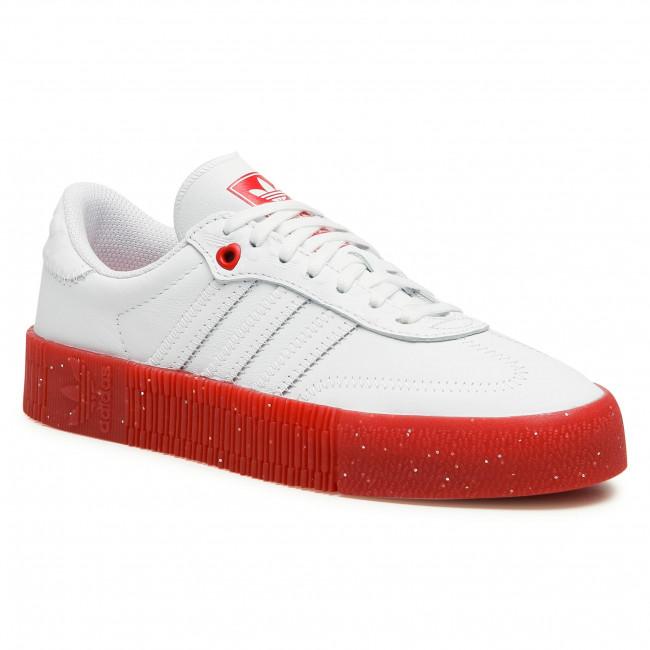 Topánky adidas - Sambarose W FZ1831 Ftwwht/Scarle/Cblack