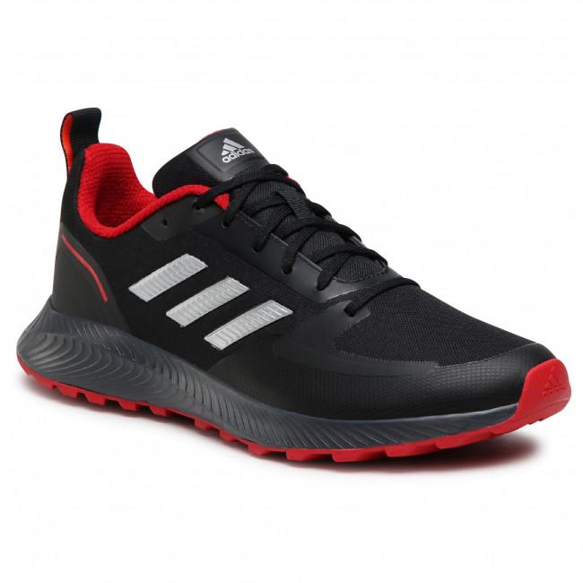 Topánky adidas - Runfalcon 2.0 Tr FZ3577 Cblack/Silvmt/Gresix