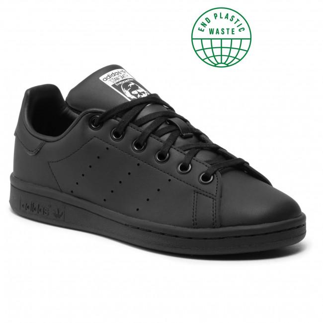 Topánky adidas - Stan Smith J FX7523 Cblack/Cblack/Ftwwht