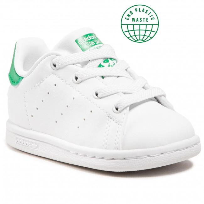 Topánky adidas - Stan Smith El I FX7528 Ftwwht/Ftwwht/Green