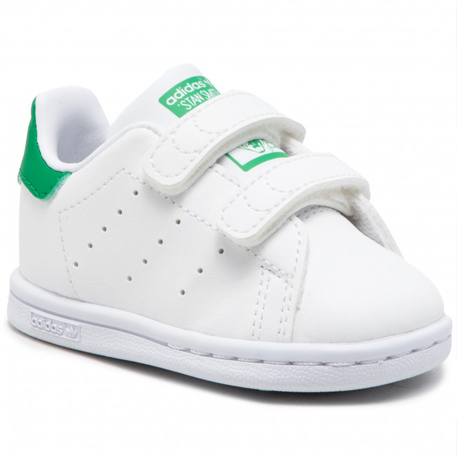 Topánky adidas - Stan Smith Cf I FX7532  Ftwwht/Ftwwht/Green