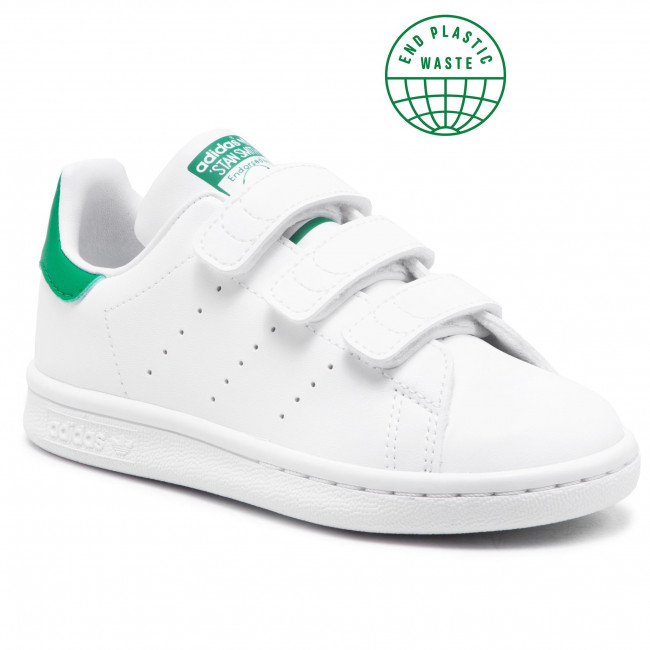 Topánky adidas - Stan Smith Cf C FX7534 Ftwwht/Fthwht/Green