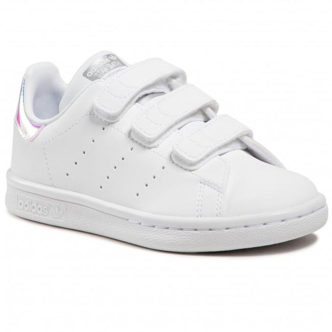 Topánky adidas - Stan Smith Cf C FX7539 Ftwwht/Ftwwht/Silvmt