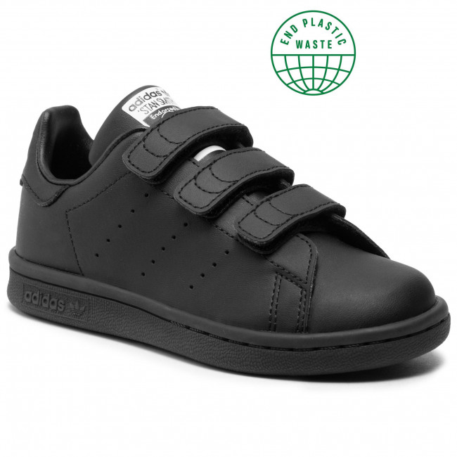 Topánky adidas - Stan Smith Cf C FY0969 Cblack/Cblack/Ftwwht