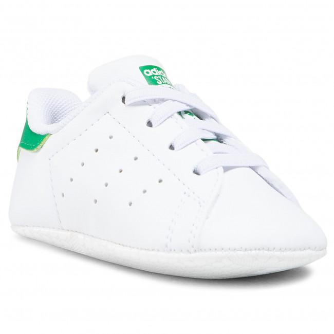 Topánky adidas - Stan Smith Crib FY7890 Ftwwht/Ftwwht/Ftwwht