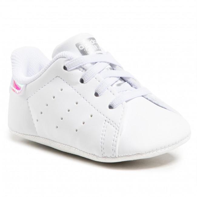Topánky adidas - Stan Smith Crib FY7892 Ftwwht/Ftwwht/Silvmt