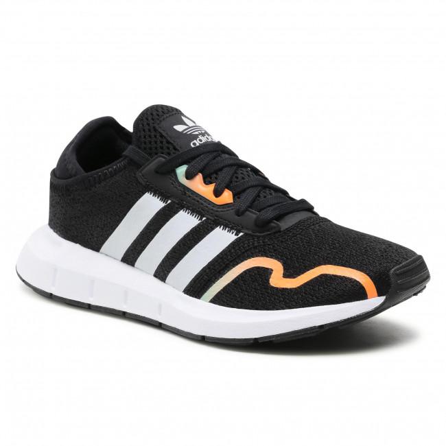 Topánky adidas - Swift Run X J G55540 Cblack/Greone/Hazgrn