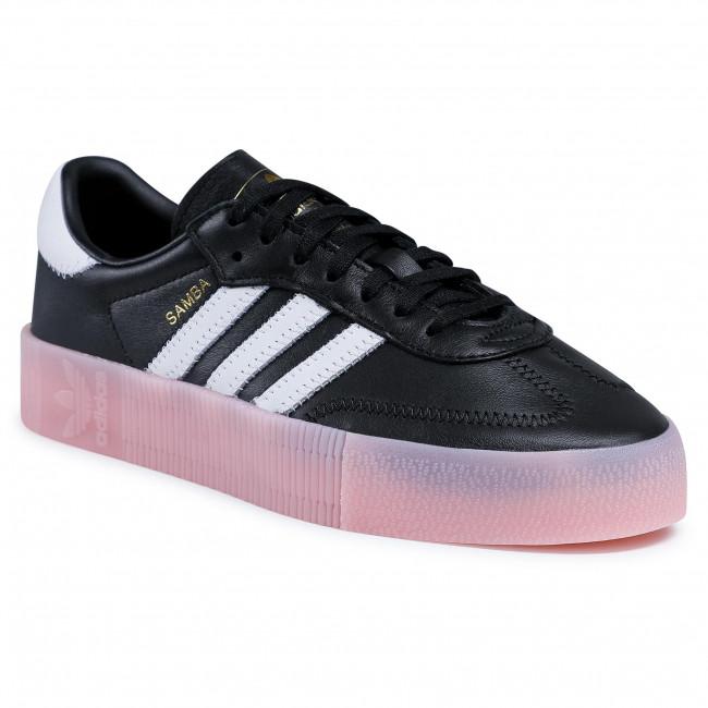 Topánky adidas - Sambarose W FX6268 Cblack/Ftwwht/Trupnk