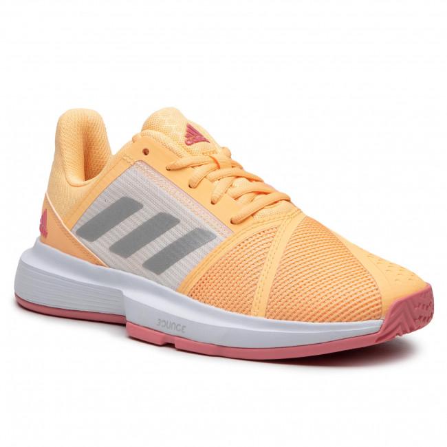 Topánky adidas - Courtjam Bounce W FX1523 Aciora/Silvmt/Hazros