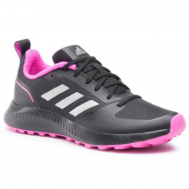 Topánky adidas - Runfalcon 2.0 Tr FZ3585 Cblack/Silvmt/Scrpnk