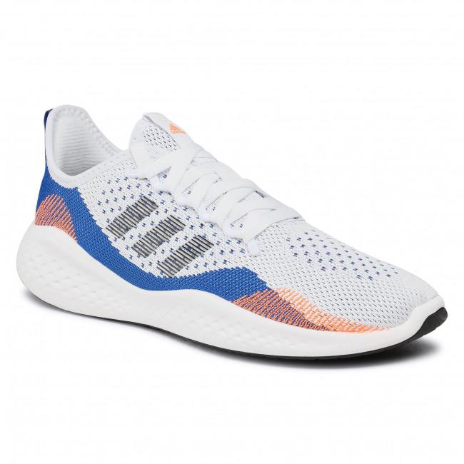 Topánky adidas - Fluidflow 2.0 FY5959 Ftwwht/Cblack/Royblu