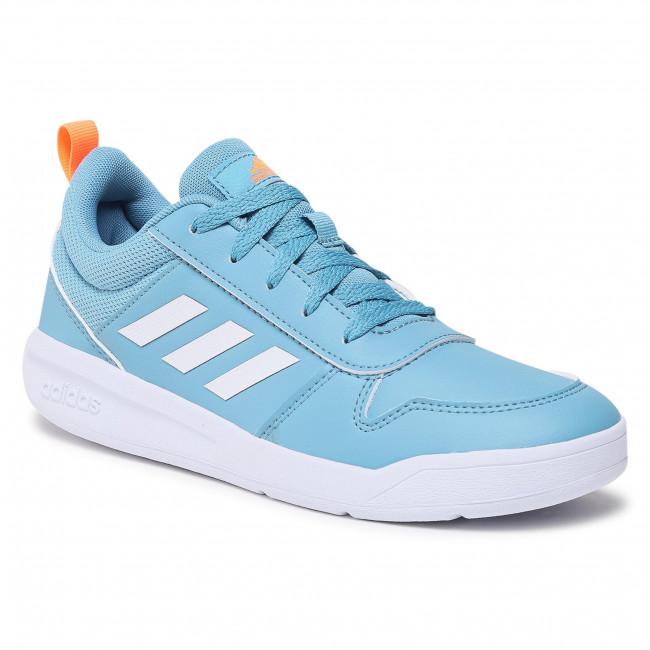 Topánky adidas - Tensaur S24040  Blue