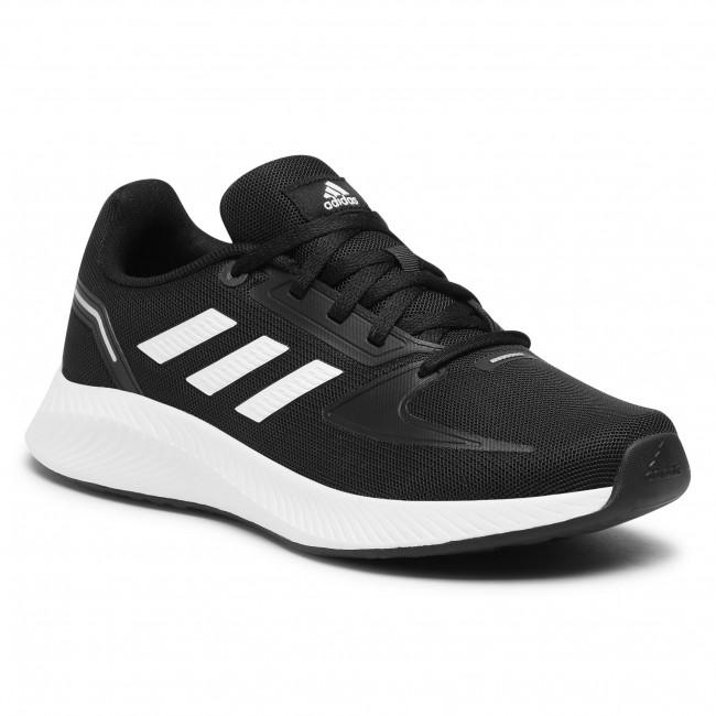 Topánky adidas - Runfalcon 2.0 K FY9495 Cblack/Cwhite/Gresix